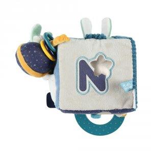 Noukies Jouet d'éveil bébé cube d'activités super-héros