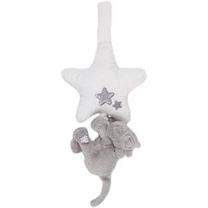 Peluche bébé mini musical lola poudre d'etoiles