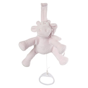 Peluche bébé mini musical lola rose cocon