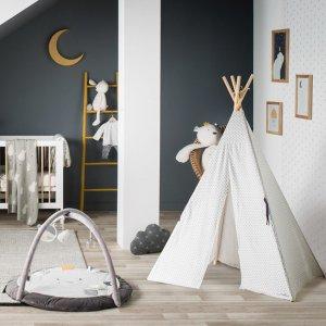 Noukies Tipi avec tapis assorti timeless