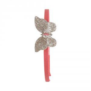Noukies Accessoire pour cheveux serre tête papillon boudoir