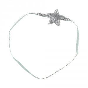 Accessoire pour cheveux headband etoiles argent