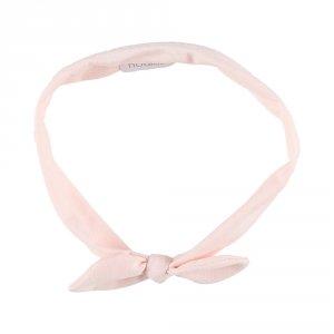 Accessoire pour cheveux bandeau pois rose