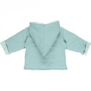Noukies Ensemble bébé 3 pièces cocon veste mantelet aqua