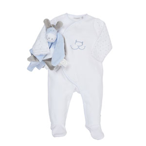 Coffret naissance pyjama paco et son doudou tidou