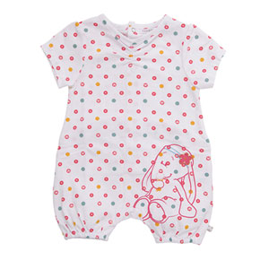 Pyjama combi manches courtes graph girl