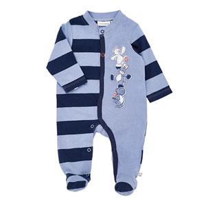Pyjama dors bien jersey rayé bord de mer