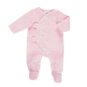 Pyjama dors bien velours rose mix and match
