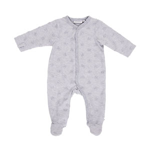 Pyjama dors bien jerey gris mix and match