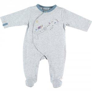 Pyjama dors bien jersey graphic boy gris