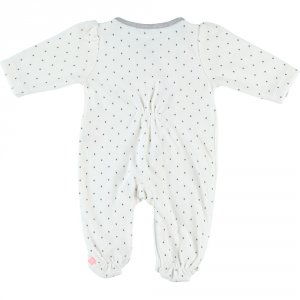 Noukies Pyjama dors bien velours timeless pois