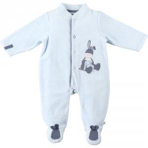 Pyjama dors bien velours smart boy bleu
