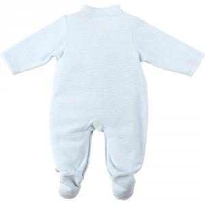 Noukies Pyjama dors bien velours smart boy bleu