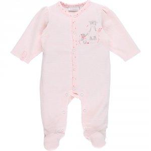 Pyjama dors bien velours smart girl rose