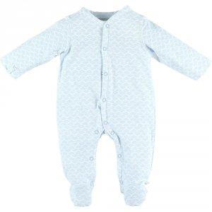 Noukies Pyjama dors bien jersey cocon bleu