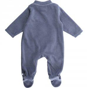 Noukies Pyjama dors bien velours smart boy océan