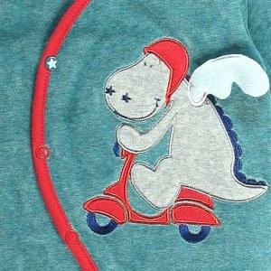 Noukies Pyjama dors bien velours peps boy turquoise