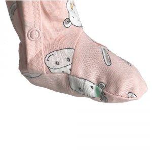 Noukies Pyjama dors bien velours mix nd match aqua