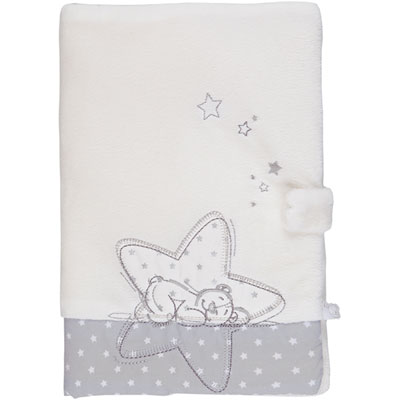 Protège carnet de santé poudre d'étoiles Noukies