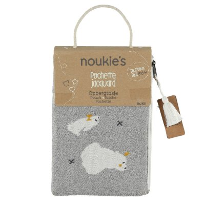 Pochette jacquard bio timeless Noukies