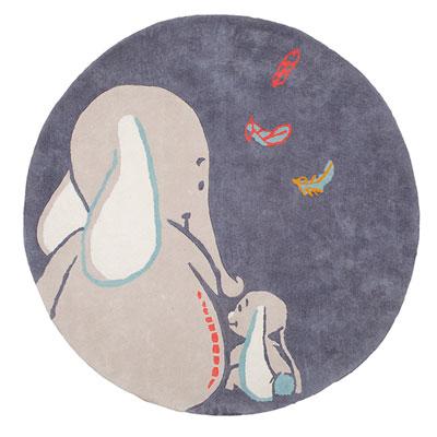 Tapis de chambre bébé en coton bao et wapi Noukies