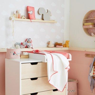 Miroir mural écureuil marley en bois mixte Noukies