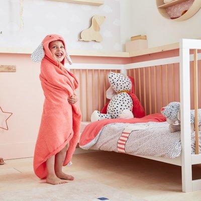 Lampe bébé applique murale en bois mixte Noukies
