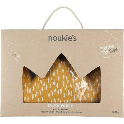Coussin couronne jacquard bio imagine Noukies
