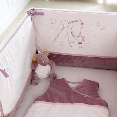 Tour de lit bébé mia et victoria Noukies