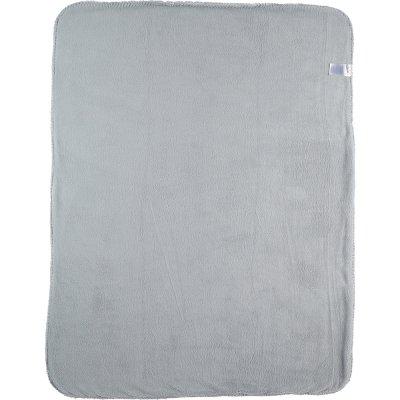 Couverture groloudoux 75 x 100 cm bleu clair Noukies
