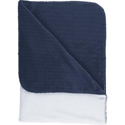 Couverture groloudoux 100 x 140 cm bleu foncé Noukies