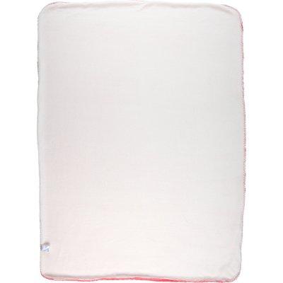 Couverture groloudoux 100 x 140 cm rose moyen Noukies
