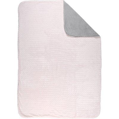 Couverture groloudoux 100 x 140 cm rose clair Noukies