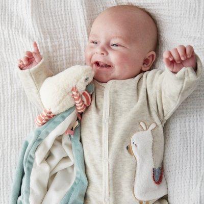 Ma première couverture bébé veloudoux moris Noukies
