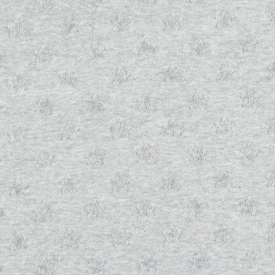 Couverture jersey 100 x 140 cm gris clair Noukies