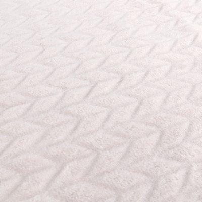 Couverture groloudoux 75 x 100 cm rose cocon / gris Noukies