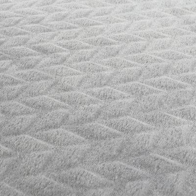 Couverture groloudoux 100 x 140 cm gris clair Noukies