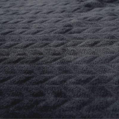 Couverture groloudoux 100 x 140 cm cachou / écru Noukies