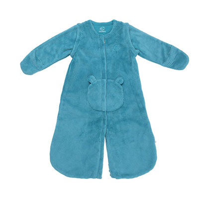 Gigoteuse groloudoux 70 cm turquoise Noukies