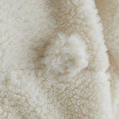Gigoteuse sherpa 70 cm écru Noukies
