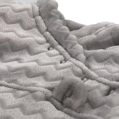 Gigoteuse groloudoux 50 cm gris clair Noukies