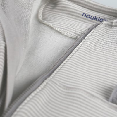 Gigoteuse sweatoloudoux 70 cm gris clair Noukies