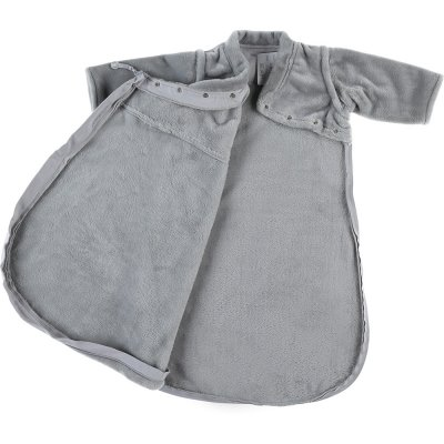Gigoteuse 70 cm gris clair groloudoux Noukies