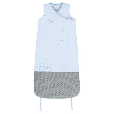 Gigoteuse 90-110 cm poudre d'étoiles bleu Noukies