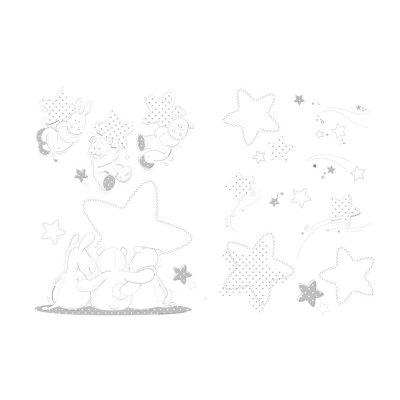 Stickers muraux poudre d'étoiles Noukies