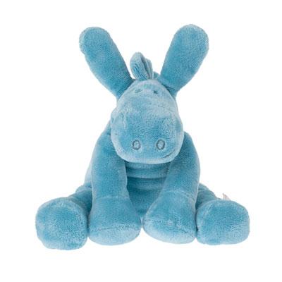 Peluche bébé paco meduim turquoise Noukies