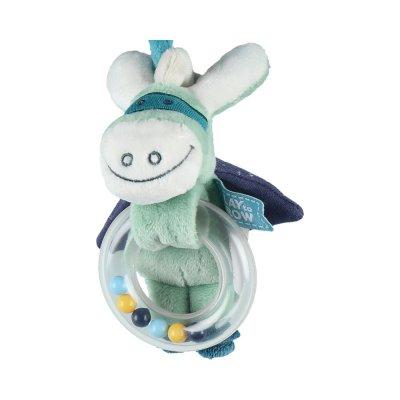 Jouet de lit bébé spirale d'activités super-héros Noukies