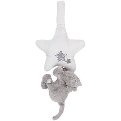Peluche bébé mini musical lola poudre d'étoiles Noukies