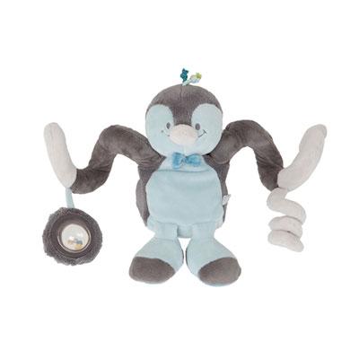 Jouet de lit bébé spirale d'activités louis Noukies