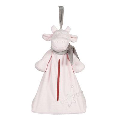 Range-pyjama poudre d'étoiles rose Noukies